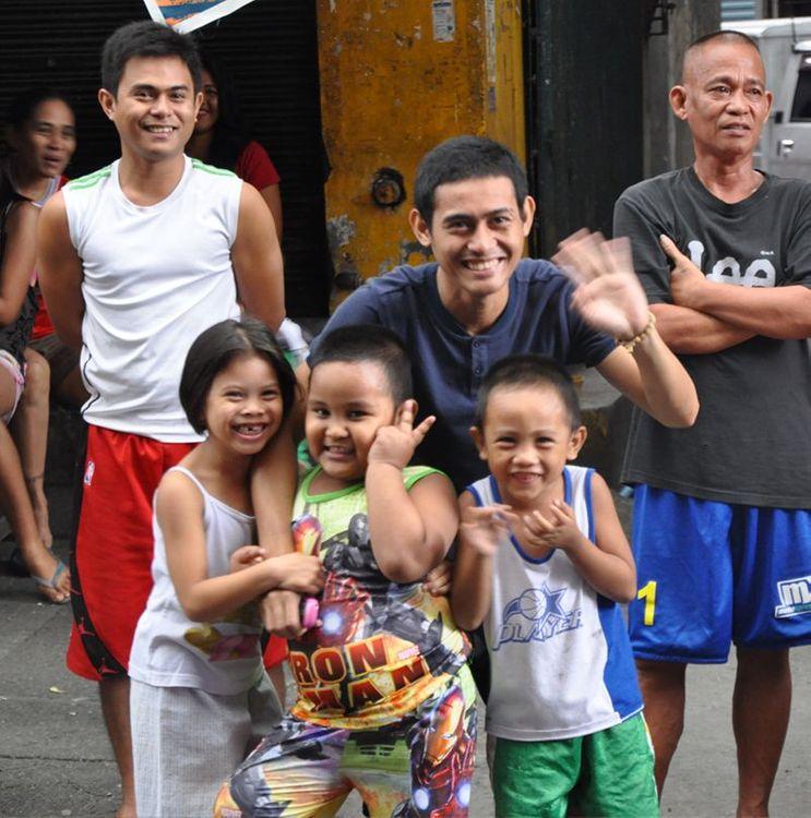 Philippines enfants Manille
