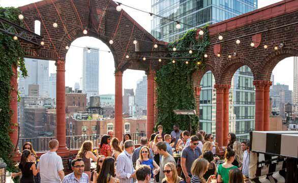 les meilleurs rooftop de new york